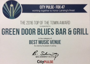 Best Music Venue Certificate