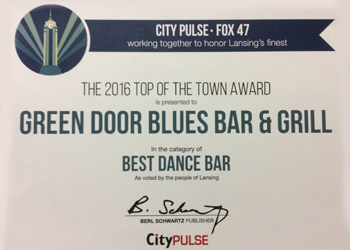 Best Dance Bar Certificate