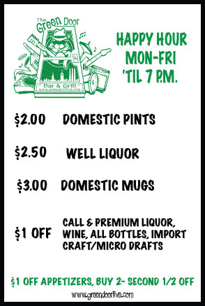 Happy Hour Specials